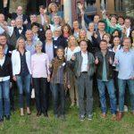 Atlasprofs aus mehr als 20 Ländern beim Jahrestreffen 2015 in Hamburg